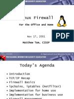 Linux Firewall