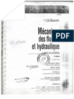 Serie Schaume MEcanique Des Fluides Et Hydraulique IngDZ