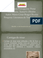 Modelo Slides Tradição oral - Aluno Mario César
