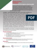 La Convención de Belém do Pará  y el Convenio de Estambul