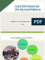 Practicas Xitosas de Inclusi n en Guatemala - Carmem Guerrero