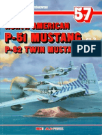 (Monografie Lotnicze No.57) North American P-51 Mustang/P-82 Twin Mustang, Cz.3