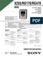 HCD-GX255