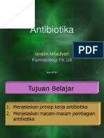 Antibiotika TA 2011-2012