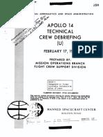 Apollo 14-Tech Debrief