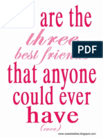 Best Friends Day Printable