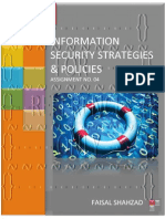 Information Security Strategies And Policies - Assignment No. 04
