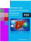 Information Security Strategies And Policies - Assignment No. 06