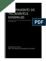 Campamento de Yacimientos Minerales 2009-2010