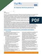 WEG Almacenaje de Maquinas Electricas Girantes de Mediano Porte Articulo Tecnico Espanol