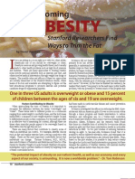 Outlook on Obesity