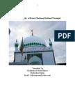 The biography of Hazrat Mashooq Rabbani Warangal