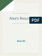 Alaa Resume - v12.2