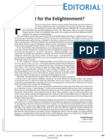 Twilight for the Enlightenment?