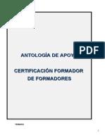 Antología certificación