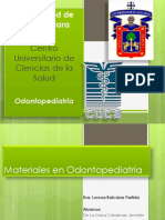 Materiales Usados en Odontopediatria Final