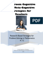 classroom cognitive and metacognitive strategies for teachers revised sr 09 08 10 3