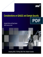 13-QAQC and Sample Security