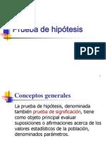 Prueba de hipótesis (2) 1