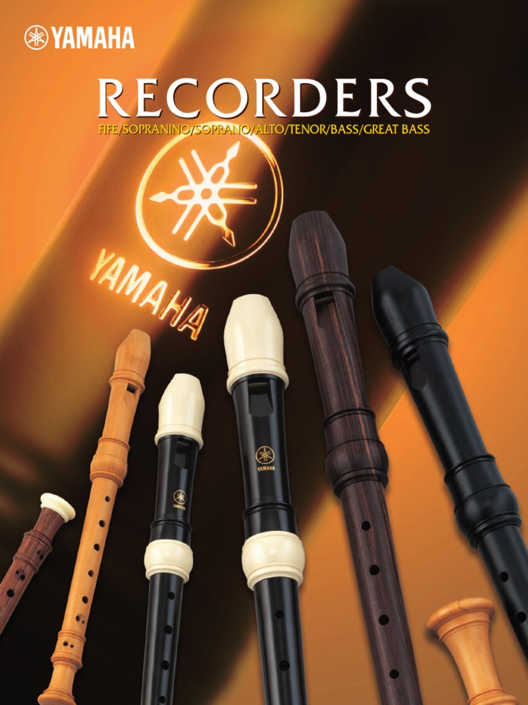 Yamaha Soprano Recorder Translucent Green Rainbow Series