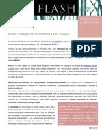 Flash Contencioso Arbitragem - Novo Codigo de Processo Civil a Lupa -10.07.2013