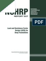 NCHRP Report 507