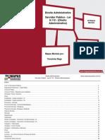 Mapas Mentais LEI.8112 Direito Administrativo