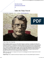 Stephen King's Rules for Time Travel