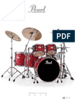2012 Pearl Drum Catalog