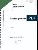 Stockhausen Kontra Punkte