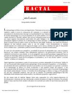Claudio Lomnitz Insoportable Levedad Antropologia