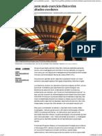 Exercício Físico - Jornal PÚBLICO