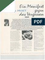 Interview mit Jan Hoet, September 1992