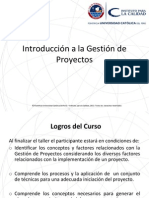 PPT Gesticón de Proyectos