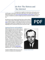 Casting a Wide Net the History and Evolution of the Internet