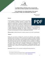 TRABALHO LABORATORIAL E PRÁTICAS DE AVALIAÇÃO DE PROFESSORES DE CIÊNCIAS FÍSICO-QUÍMICAS DO ENSINO BÁSICO