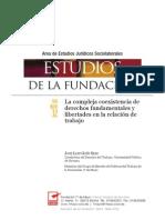 La compleja coexistencia de DDFF en la relación de trabajo - Goñi