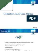 Conectores - Fibra Optica