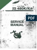Ryobi 480K-KA - Manual de Servicio
