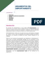 Fundamentos Del Comportamiento I.1
