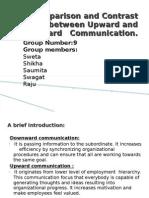 Upward and Downward Communication