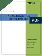 Capstone - Omkar - Retail Banking
