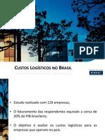 Custos Logisticos No Brasil - FDC