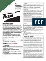 Fumigation Part 2 2014 Vikane Label
