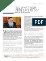 Here's my story - Rabbi Dr. AJ Twerski