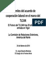 27-02-14 Los límites del acuerdo de cooperación laboral en el marco del TLCAN