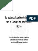 27-02-14 La potencialización de la región tras la Cumbre de América del Norte