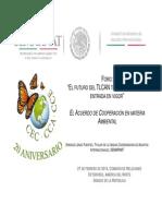 27-02-14 El Acuerdo de Cooperación en materia Ambiental