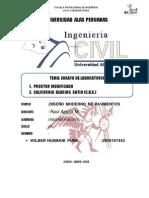Monografia de Ensayo Lab. Proctor y Cbr