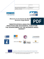 Identification & analysis of best practices, tools and entities in the BA Market